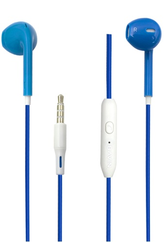 BAVIN blue Wired Stereo Earphone 7220EAC1CDF645GS_1