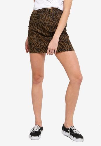 27a53576b6d Shop Cotton On Classic Stretch Denim Mini Skirt Online on ZALORA Philippines