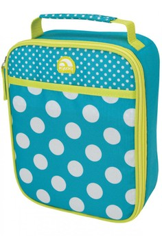 Polka Dots Turquoise with Spots Lunch Box