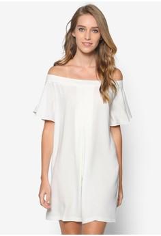 Collection Off Shoulder Flounce Dress