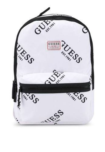 Guess white Originals Backpack 1F522AC395F17DGS_1