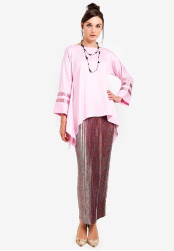 Yans Creation pink Melayu Manis Kurung 2841FAAC635CBBGS_1