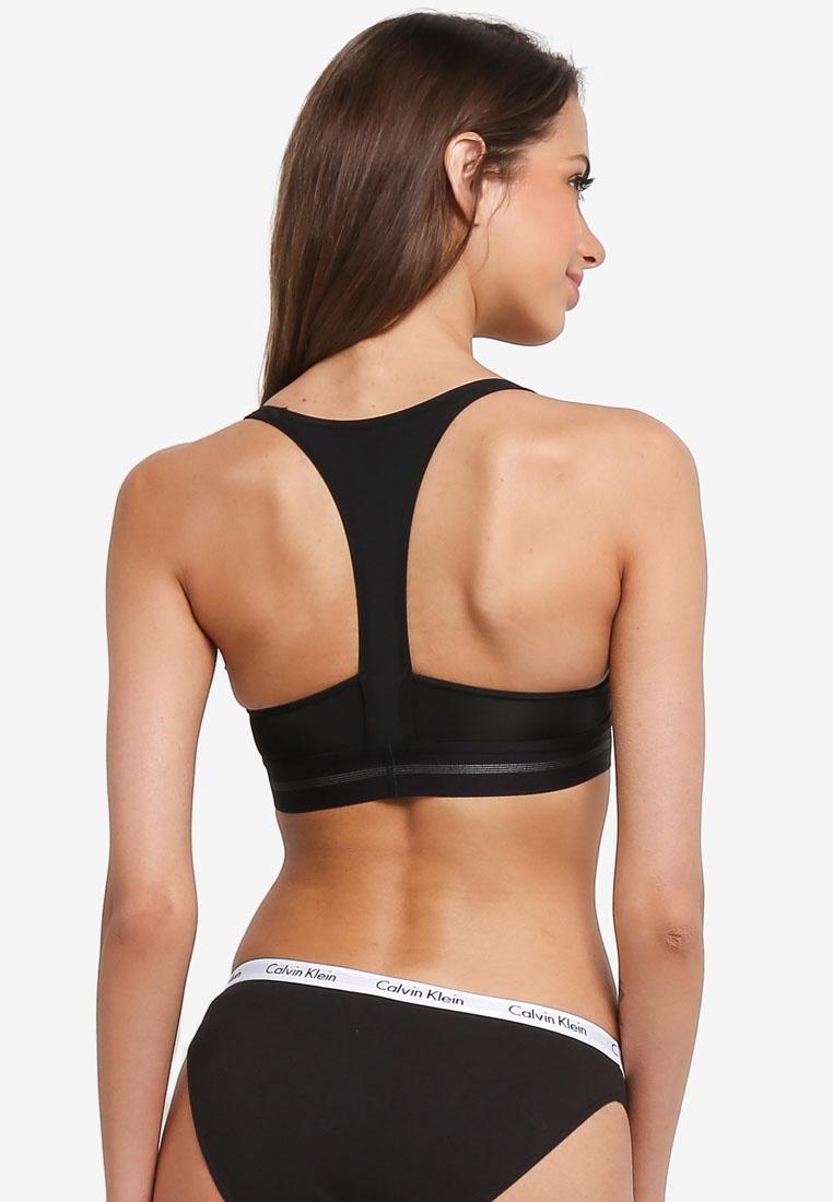 Underwear Calvin Black Calvin Up Klein Klein Bralette Push rFq0SrwY