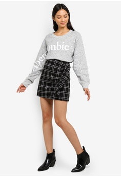56637d3cb6 42% OFF Abercrombie & Fitch Ruffle Mini Skirt S$ 88.00 NOW S$ 50.90 Sizes S  M