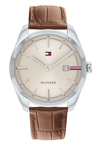 Tommy Hilfiger beige Tommy Hilfiger Cream Sunray  Men's Watch (1710430) 28C2EAC227D038GS_1