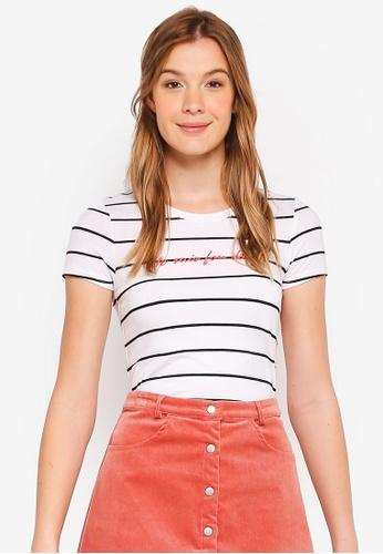 Cotton On white Tbar Hero Graphic T-Shirt 0DE56AA550B61AGS_1