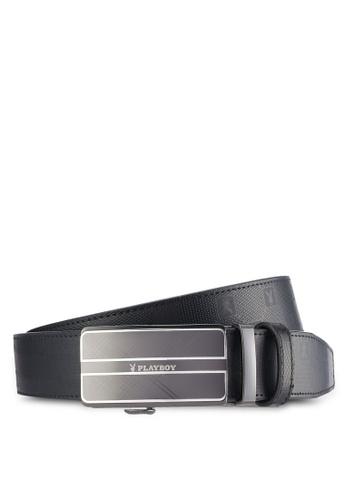 Playboy black Playboy 35mm Automatic Belt PL371AC61PDAMY_1