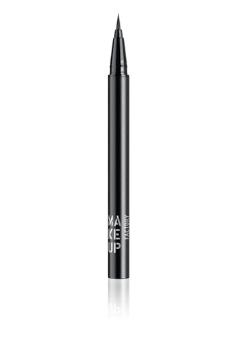 Make Up Factory black Calligraphic Eye Liner in Black MA667BE90GYVPH_1