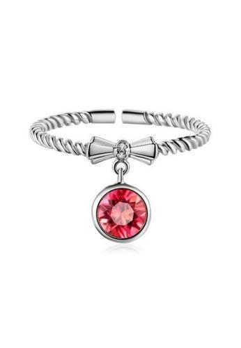 Vivere Rosse silver Phoenix's Eye Twisted Ring - Silver VI014AC0RHAVMY_1
