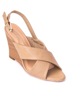 Orchid Wedge Sandals