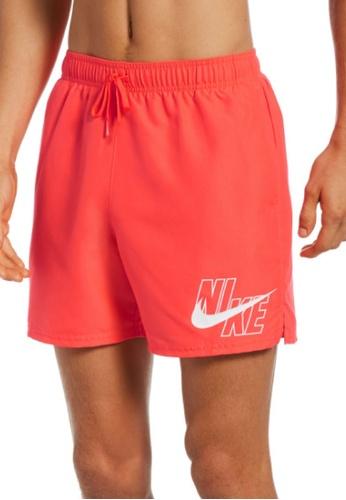 """Nike orange Nike Logo Lap 5"""" Volley Short 2540AUS2B840B2GS_1"""