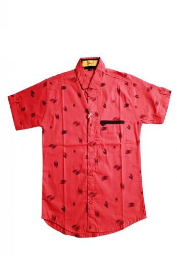 KAMDAR red Boys shirt 8062CKA793EFB1GS_1