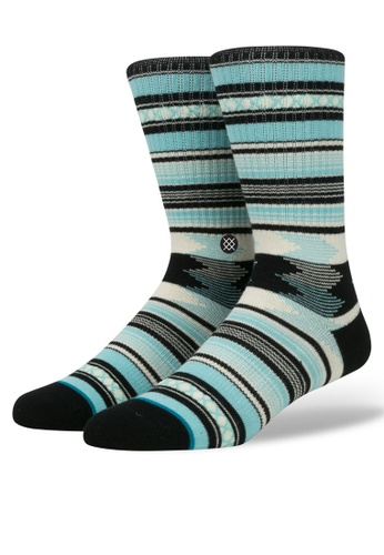 STANCE blue Guadalupe Socks ST488AA34SAFMY_1