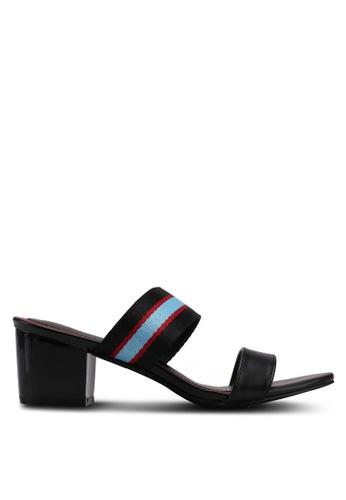VINCCI black Slip On Heels 408B0SHBF3C3B6GS_1