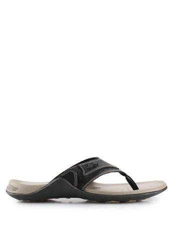 Homyped black Subaru 01 Men Sandals HO842SH77SOOID_1