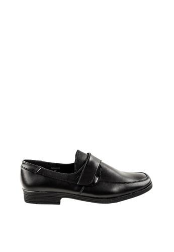 Otto black Velcro Strap Shoes 675C7SH869EDFFGS_1