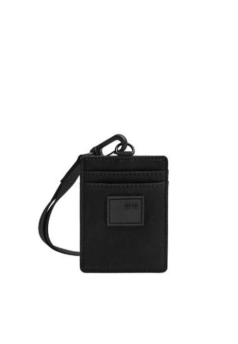 Mango Man black Hanging Nylon Card Holder 0DA06AC0762790GS_1