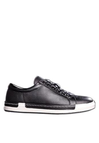 Twenty Eight Shoes black Sewing Edge Sneakers VMT556 EB66ESH5A8D5F6GS_1