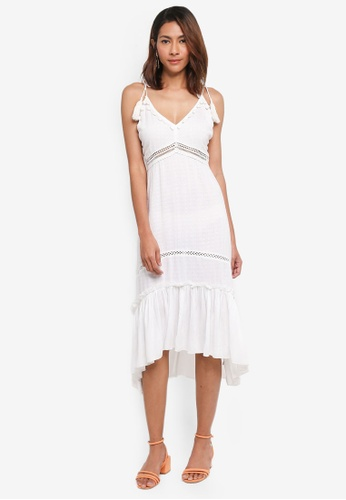b25409f7f97 Buy River Island Bobble Trim Dress Online on ZALORA Singapore