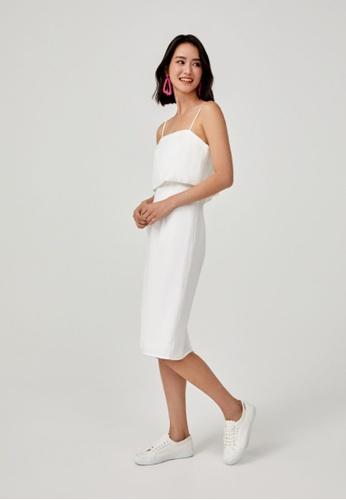 Love, Bonito white Prairie Midi Camisole Dress DE737AAEF80F4EGS_1
