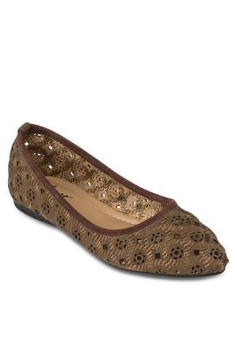 雕花鏤空平底鞋, 女鞋esprit 旺角, 芭蕾平底鞋