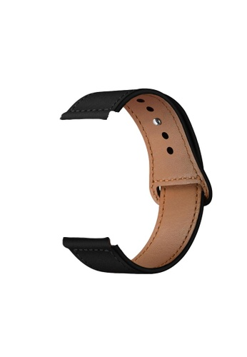 Kings Collection black Black Genuine Leather Apple Watch Band 38MM / 40MM (KCWATCH1022) 6491CAC8F3F984GS_1