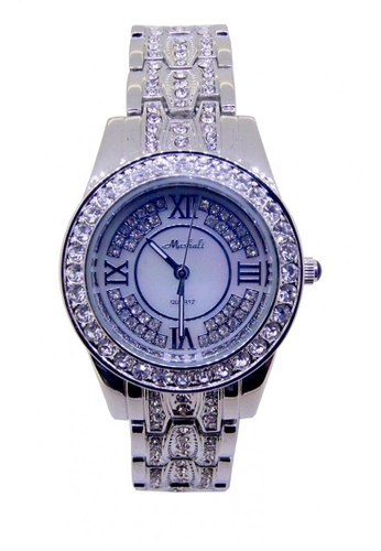 Sk Time Watch Shop silver Japan Design Lady Fashion Steel Watch SK518AC0IT3TPH_1