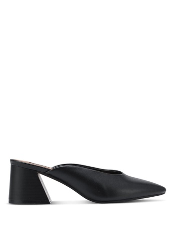 ZALORA black Classic Slip On Heels 3B61CSHAFC09C1GS_1