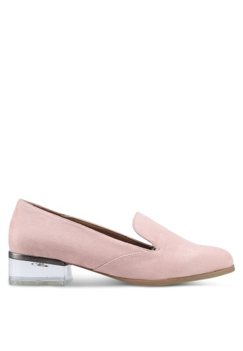 Call It Spring pink Ybaoven Loafer Heels 6EB75SHB36F8F6GS_1
