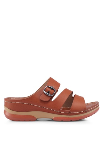 Louis Cuppers 褐色 Casual Sandals 9C637SHF89E0CEGS_1