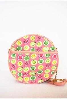 Fruit Smoothie Printed Sling Bag