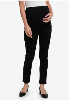 a9d83d16489a6 JoJo Maman Bébé black Maternity Superstretch Skinny Jeans 296CCAA41ECC08GS_1