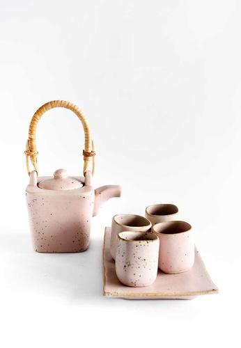KRA Sanctuary pink Sii Chompuu Tea Set 897EBHLBAA61CFGS_1