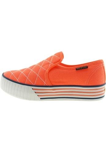 Maxstar Maxstar Women's C30 Stitched Platform Canvas Slip On Shoes US Women Size MA168SH99BYMHK_1