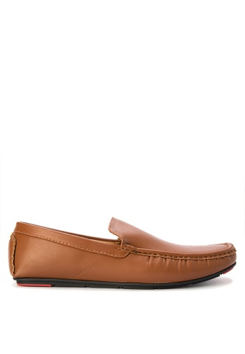 Preview brown Fredie Loafers PR211SH0KAOFPH_1
