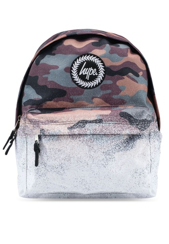 Just Hype multi Camo Fade Backpack 40445AC2341C02GS_1