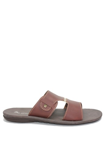 Dr. Kevin brown Dr. Kevin Men Sandals 97219 - Brown 7F0DESHA388268GS_1
