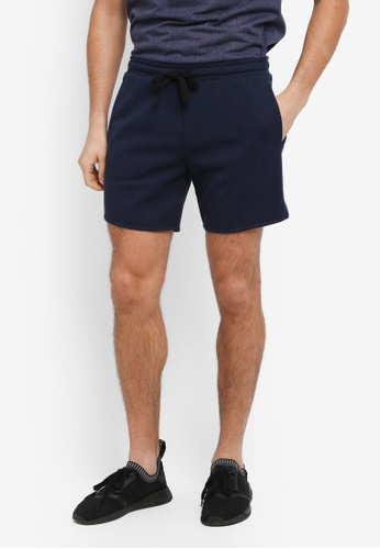 Cotton On navy Coar Performance Double Knit Shorts 72656AA0708254GS_1