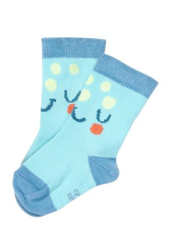 Du Pareil Au Même (DPAM) blue Casual Socks 9CC8CKAC5C5DEAGS_1