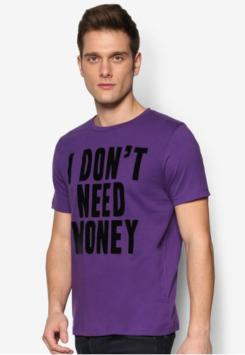 文字設計短袖TEE,esprit outlet hong kong 服飾, 印圖T恤