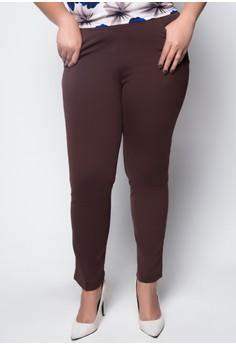 Plus Size Regular Trousers 1001