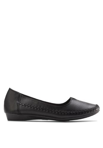 Louis Cuppers black Comfy Flats LO977SH31XRKMY_1