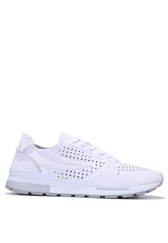 FILA white RJ-EDGE LIGHT Sport Shoes 8EED0SH5D12757GS_1