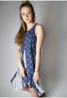 The MARA Paneled Flare Dress