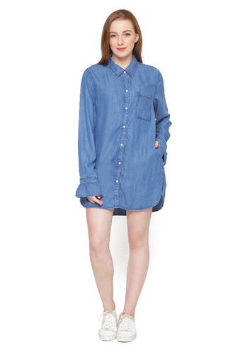Jual Osella Osella Woman Long Sleeve Shirt With Frill ...