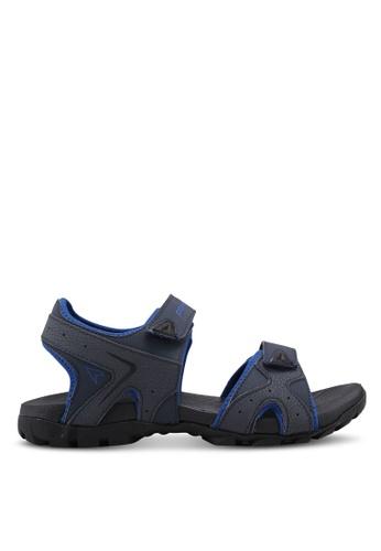 Power navy Athletic Core Sandals 2542BSH233D458GS_1