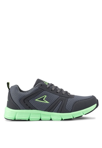 Power grey and green Power Running Shoes 5C5E9SHE52C1D5GS_1