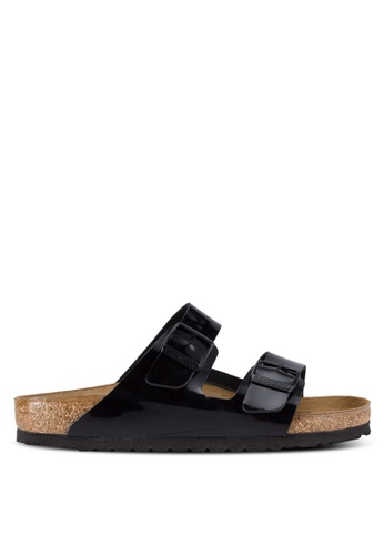 Birkenstock black Arizona Sandals BI090SH76JQDMY_1
