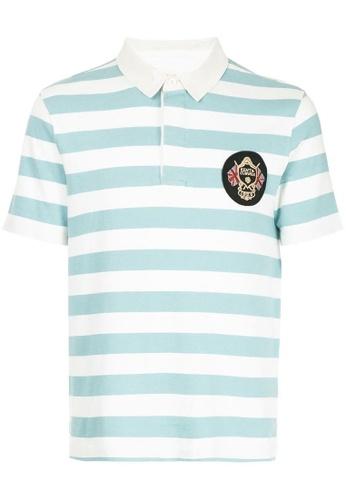 77e34dfd5 Buy Kent and Curwen Striped Polo Shirt Online on ZALORA Singapore