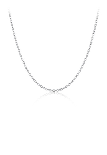 Glamorousky silver Simple and Fashion Necklace 84382ACD1F4126GS_1